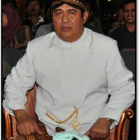 Anom Suroto (1948- ) of Juwiring, Klaten, Central Java,<em>dalang</em>of <em><em>wayang</em> kulit purwa</em>. Photo courtesy of UNIMA-Indonesia