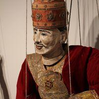 String puppet, Burma/Myanmar. Donated by Mary Decker, Northwest Puppet Center. Photo: Dmitri Carter