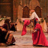 <em>Macbeth</em> et Lady <em>Macbeth</em>, dans <em>Macbeth</em> par la Compagnia Marionettistica Carlo Colla e Figli (Milan, Italie), marionnettes à fils, hauteur : 80 cm. Propriété d'Associazione Grupporiani. Photo: Piero Corbella