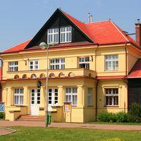 Extérieur du Divadlo DRAK (Hradec Králové, République tchèque). Photo réproduite avec l'aimable autorisation de Archives de Loutkář