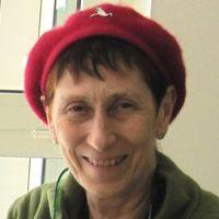 Meg Amsden, présidente de l'UNIMA britannique (2000-2013). Photo réproduite avec l'aimable autorisation de Meg Amsden