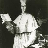 Portrait in oils of Cardinal Ottoboni by F. Trevisani, reprinted by A. Schiavo, Il Palazzo della Cancelleria, Rome. Photo courtesy of Collezione Maria Signorelli