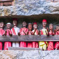 Tau-Tau effigies, Tana Toraja, Indonesia