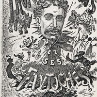"""""""Thomas Holden's et ses Fantoches"""" (c.1879-1880s). Touring poster for Holden's marionettes. Photo courtesy of The National Puppetry Archive"""