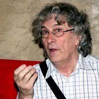 Zlatko Bourek (1929- ), créateur de marionnettes, cinéaste, metteur en scène, scénographe et créateur de costumes, peintre, sculpteur et graphiste croate. Photo: Ivan Špoljarec
