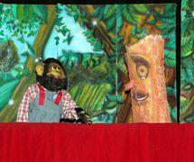 Puppets by the puppet theatre group, Coopérative Masrah Arous Wahran (<em>Or</em>an [Arabi<em>c</em>: <em>Wahrān</em>], Algeria). Photo: Houari Abdelkhalek