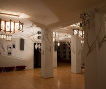 El vestíbulo del Arkhangelsky oblastnoi teatr koukol (Arkhangelsk, Rusia) (2013). Fotografía cortesía de Arkhangelsky oblastnoi teatr kukol. Foto: Aleksandr Yanichek