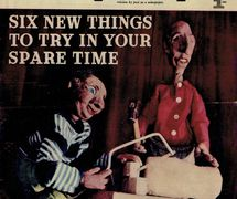 Natty and Slim on the <em>c</em>over of <em>Everybody's</em> (January 17, 1962), string puppets by Australian puppeteer Edith Murray. Photo courtesy of Richard Bradshaw