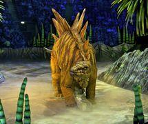 <em>Stegosaurus</em> by Creature Te<em>c</em>hnology Co. (West Melbourne, Vi<em>c</em>toria, Australia), in Walking with Dinosaurs – The Arena Spe<em>c</em>ta<em>c</em>ular, <em>c</em>reative dire<em>c</em>tor: Sonny Tilders. Photo: David Scheinmann