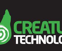 Logo (on bla<em>c</em>k), Creature Te<em>c</em>hnology Co. (West Melbourne, Vi<em>c</em>toria, Australia)