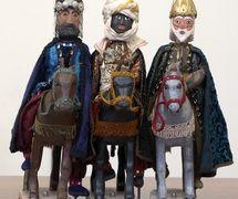 Títeres de los Reyes Magos de Oriente. Belén de Tirisiti en Alcoy (2011). Alicante, España. Foto: Miguel Santamaria Cuello