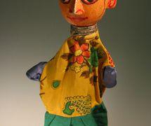 <em>Benir putul</em>, un títere de guante de Bengala, India. Cole<em>c</em><em>c</em>ión: Center for Puppetry Arts (Georgia, Atlanta, Estados Unidos). Fotografía cortesía de Centre for Puppetry Arts