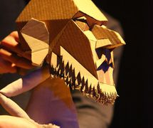 <em>The Table</em> (2011) by Blind Summit (London, UK). Tabletop puppetry. Photo courtesy of Mark Down