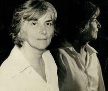 Magda Modesto (1925-2011), mujer de letras brasileña, investigadora de arte de la animación y también historiadora del teatro de títeres. Fotografía cortesía de Cecilia Modesto
