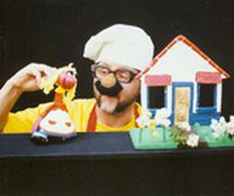 Fernando Thiel, a<em>c</em>teur, marionnettiste et mime argentin, le fondateur en 1990 de Ti<em>c</em>o-Títeres. Photo réproduite avec l'aimable autorisation de Tico-Títeres