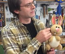 Jason Hines (b.1974), American director, designer and puppeteer, and Resident Puppet Builder of the Center for Puppetry Arts (Atlanta, GA, United States). Photo courtesy of Center for Puppetry Arts