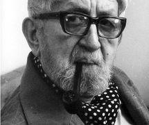 Jan Malík (1904-1980), un marionnettiste, metteur en s<em>c</em>ène, é<em>c</em>rivain et pédagogue t<em>c</em>hèque. Photo réproduite avec l'aimable autorisation de Archives de Nina Malíková
