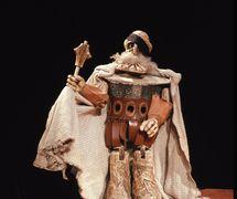 <em>Jan Žižka na hradě Rábí</em> (1974) par Jan Nepomuk Lašťovka, réalisée par Divadlo Alfa (Plzeň), mise en s<em>c</em>ène : Karel Brožek, s<em>c</em>énographie : Petr Matásek