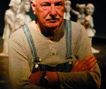 Karel Brožek (1935-2014), un a<em>c</em>teur, metteur en s<em>c</em>ène et auteur t<em>c</em>hèque. Photo réproduite avec l'aimable autorisation de Archives de Loutkář