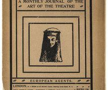 Une <em>c</em>ouverture pour <em>The Mask</em> (1908). Photo réproduite avec l'aimable autorisation de The National Puppetry Archive