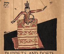 Une <em>c</em>ouverture pour <em>Puppets and Poets</em> (1921). Photo réproduite avec l'aimable autorisation de The National Puppetry Archive