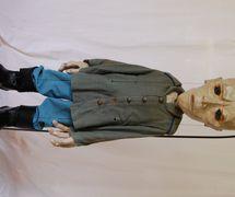 <em>Woyzeck</em>, en <em>Woyzeck</em>, puesta en escena: Jean Herbiet, Félix Mirbt, fabricación de títeres: Félix Mirbt. Producción: La compagnie du Centre national des Arts. Centre national des Arts, Ottawa, Canada, 1974. Private collection. Foto: Marcelle Hudon