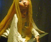 Belisa, string puppet of Los Melindres de Belisa by Félix Lope de Vega, built by Francisco Peralta. Photo: Nati Cuevas Zugazagoitia
