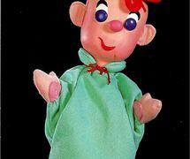 Wilbur, glove puppet by American puppeteer George Latshaw (1923-2006)