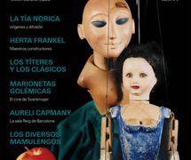 """Fantoche: arte de los títeres, journal of UNIMA Federación España featuring the article, """"Herta Frankel"""" (Año VII, No. 6)"""