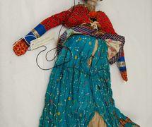Anarkali, la bailarina, un títere de hilos, <em>kathputli</em>, de Rajastán, India, altura: 60 <em>c</em>m. Cole<em>c</em><em>c</em>ión: Center for Puppetry Arts (Atlanta, Georgia, Estados Unidos). Fotografía cortesía de Center for Puppetry Arts