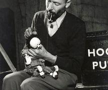 Jan Bussell en 1952. Fotografía cortesía de The National Puppetry Archive