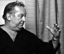 Jan Dvořák (1925-2006), Czech visual artist, puppeteer, director, and teacher. Photo: Milan Janata