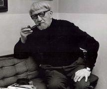 Jan Malík (1904-1980), marionnettiste, metteur en scène, écrivain et pédagogue tchèque. Photo réproduite avec l'aimable autorisation de Archives de Nina Malíková. Photo: Václav Chochola