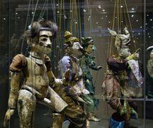 <em><em>Expozice Magický svět loutek</em> – Loutky Orientu</em> (Exhibition: The Magical World of Puppets – Asian Puppets), Muzeum loutkářských kultur Chrudim (Chrudim, Czech Republic). Photo: Oto Palán, © MLK