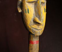 Wood and cloth rod puppet from Bamana, Mali. The Cook/Marks Collection, Northwest Puppet Center. Photo: Dmitri Carter