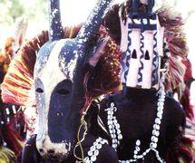 Dogon Country mask-dance (1987), Mali. Photo: Alain Cloarec