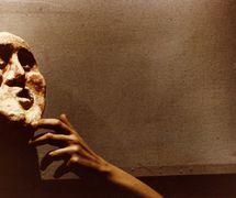 <em>Signori, la marionetta!</em> (Rome, New York, 1979) by Edward Gordon Craig, a production of Nuova Opera dei Burattini, direction: Michele Mirabella, scenography: Enrica Biscossi and Maria Signorelli. Collezione Maria Signorelli