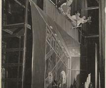 Rehearsal of <em>La boîte à joujoux</em> (1955) of Igor Stravinsky by Les Marionnettes de Montréal for l'Opéra de Montréal, direction: Micheline Legendre