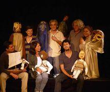 Cast of <em>Odisea</em> by Moderno Teatro de Muñe<em>c</em>os (MTM), San José, Costa Ri<em>c</em>a. Photo courtesy of Teatro Moderno de Muñecos