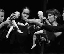 Puppet workshop at the National Puppetry Conference at the Eugene O'Neill Theater Center. Photo: Richard Termine