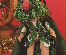 Une marionnette par le marionnettiste américain Paul Vincent Davis (né en 1935). Photo réproduite avec l'aimable autorisation de Puppet Showplace Theatre (Brookline, Massachusetts, États-Unis).