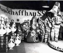 <em>Która godzina?</em> (Quelle heure est-il ?, 1964) de Zbigniew Wojciechowski, réalisé par Teatr Dzieci Zagłębia (Będzin, Pologne), mise en scène et scénographie : Jan Dorman. Collection : Teatr Dzieci Zagłębia, Będzin. Photo: Zdzisław Kempa