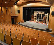 Interior of Divadlo Radost (Brno, Czech Republic), theatre auditorium. Photo: Jef Kratochvil © Radost
