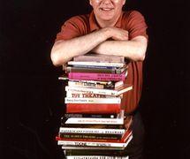 Ray DaSilva, supplier of puppet books. Photo: Joe Harper
