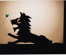 The Lion, shadow theatre by Richard Bradshaw of Living Dodo Puppets (R. Bradshaw and M. Williams, Bowral, NSW, Australia). Photo: Margaret Williams