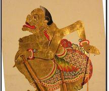 Un personaje popular en los espectáculos de <em>wayang</em> kulit, Semar el hombre sabio es el fiel servidor de los héroes; un animador, seguidor y asesor, su función principal es como guía en filosofía. Fotografía cortesía de UNIMA-Indonesia
