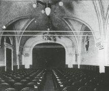 A 1910 photo of the Sala Verdi in the Palazzo Odescalchi, Rome, where Teatro dei Piccoli's debut performances, in 1914, took place. Photo courtesy of Collezione Maria Signorelli