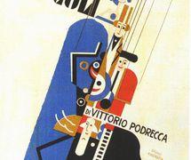 Teatro dei Piccoli poster designed by Bruno Angoletta. Collezione Maria Signorelli. Photo courtesy of Istituto per i Beni Marionettistici e il Teatro Popolare (Turin, Italy)