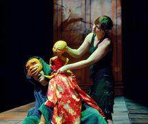 <em>L'armoire</em> (2005) by Théâtre de l'Avant-Pays, direction: Michel P. Ranger, design: Patrick Martel. Photo: Suzanne O'Neil
