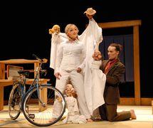 <em>Le Voyage</em> (2009) by Théâtre de l'Avant-Pays, direction: Marie-Christine Lê-Huu, design: Patrick Martel. Photo: Suzanne O'Neil